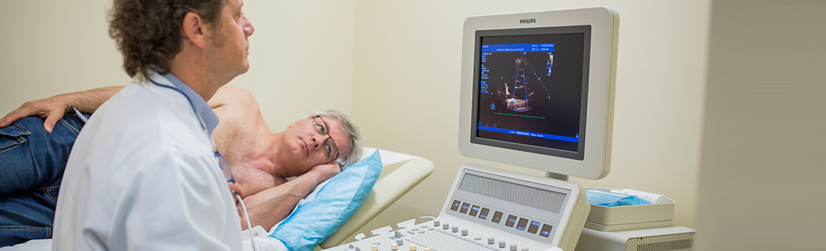 Ecocolordopplergrafia cardiaca transtoracica