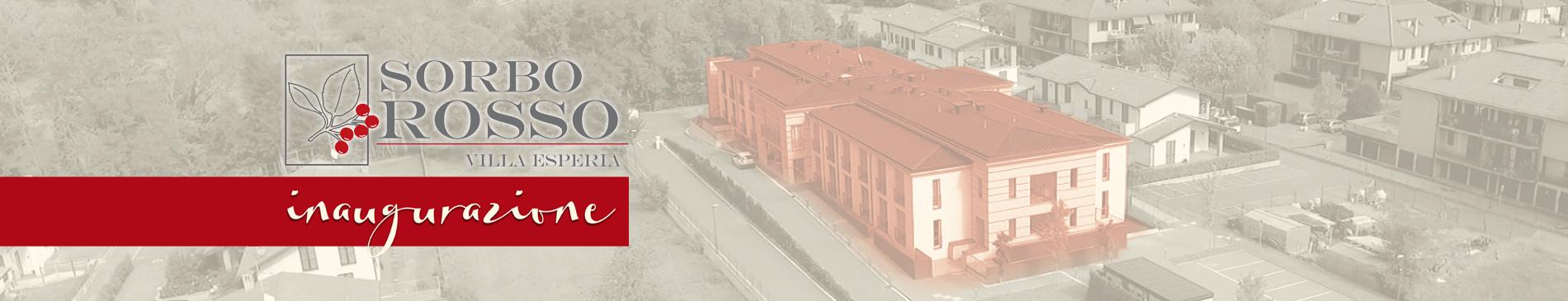 Inaugurazione Sorbo Rosso