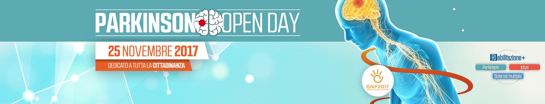 Giornata Nazionale Parkinson | Open Day Parkinson 2017